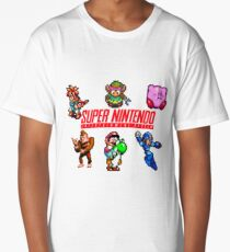 Super Nintendo Long T-Shirt