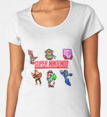 Super Nintendo Women's Premium T-Shirt