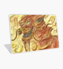 Happy Autumnal Watercolour Dragon Laptop Skin