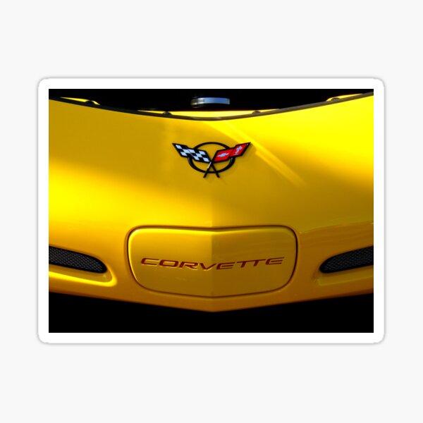 Corvette, by Chevrolet ~ Part Two Sticker