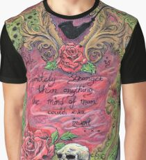Life is Infinately Stranger Colour Version Graphic T-Shirt