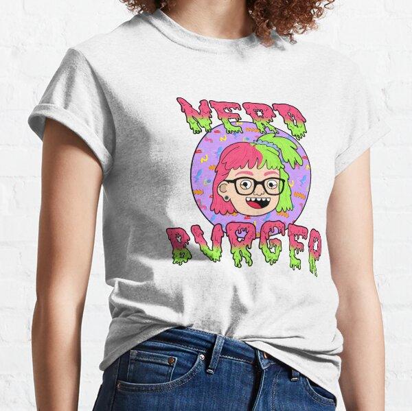 Nerd Burger Logo  Classic T-Shirt