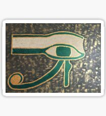 The Eye of Horus Sticker
