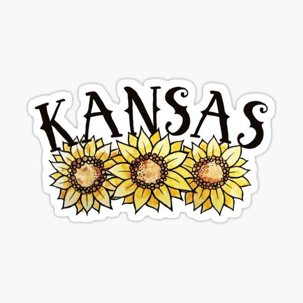 Kansas Sunflowers Sticker