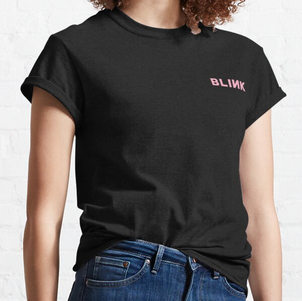 Blackpink Blink Logotipo Camiseta clásica