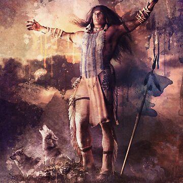 Wolf Clan Warrior by Allegra