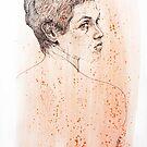 Portrait of Bridget by Roz McQuillan