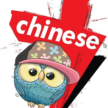 Hip Hop Owl in China / Chinese Owl / Time to Travel With an Owl I am Chinese by ProjectX23