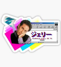 Seinfeld 2000 Sticker