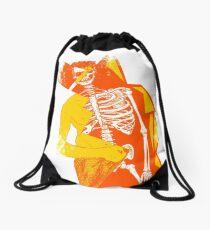 Skele-man Drawstring Bag