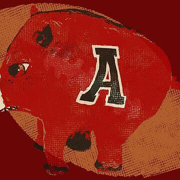 Arkansas Razorback Football Gifts by ginnyl52