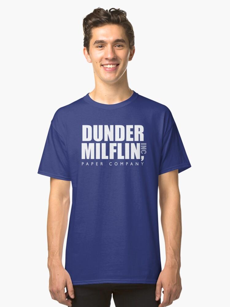 DUNDER MILFLIN INC. Classic T-Shirt Front