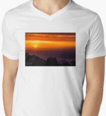 SkyHigh at Sunset V-Neck T-Shirt