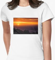 SkyHigh at Sunset Fitted T-Shirt