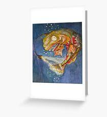 Ocean Depths.. Greeting Card