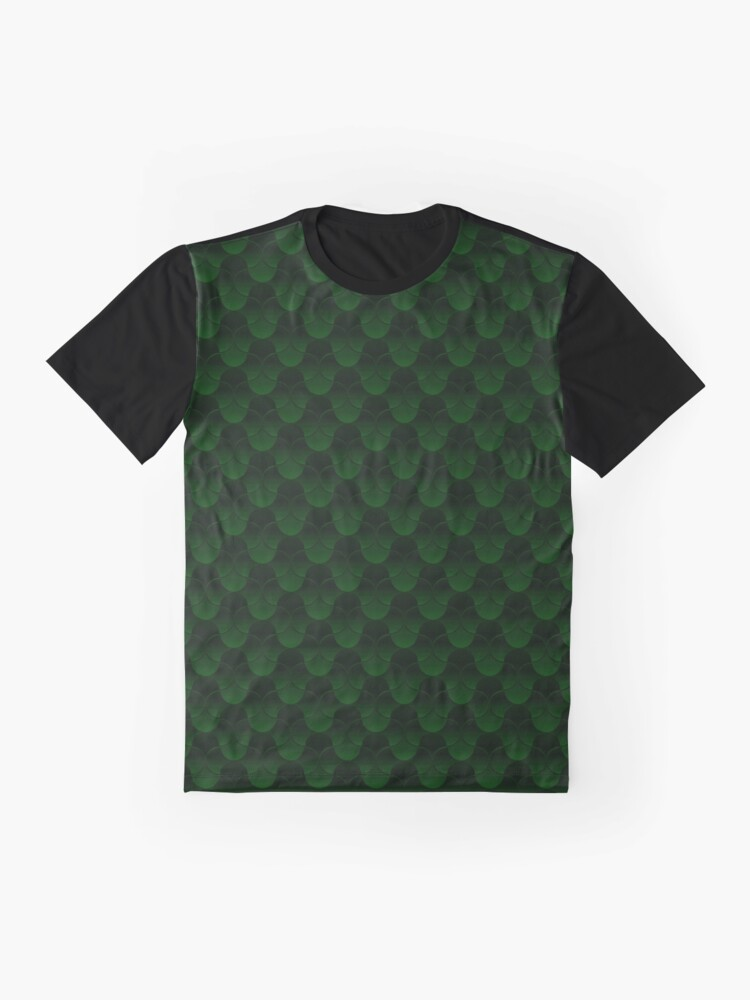 Alternate view of Oh Gee!  Green Graphic T-Shirt