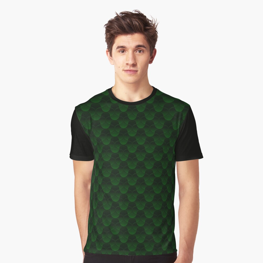 Oh Gee!  Green Graphic T-Shirt