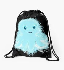 Animal cartoon glowing Art Drawstring Bag