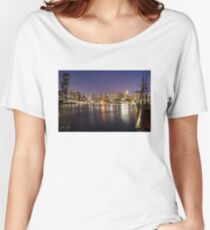 Docklands night Relaxed Fit T-Shirt