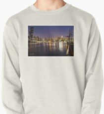 Docklands night Pullover Sweatshirt
