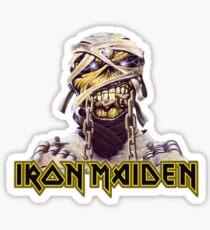 Iron Maiden Powerslave Tribute Sticker