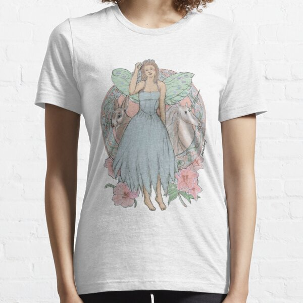 Blue Fairy Illustration Essential T-Shirt