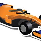 McLaren Side View APEX Race Manager 2018 by Beermogul