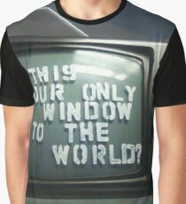 is dis ur only window? Graphic T-Shirt