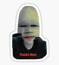 Thanks Mom Sticker