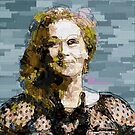 Meryl Streep [Mixed Media] by #PoptART products from Poptart.me
