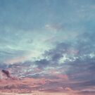 Pink Purple and Blue Summer Sunset by AlexandraStr