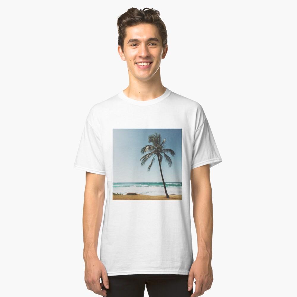 Palme am Strand Classic T-Shirt