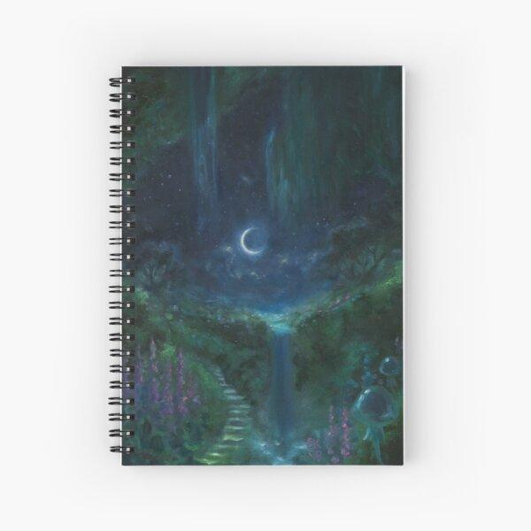 Moonlit Lullaby Spiral Notebook