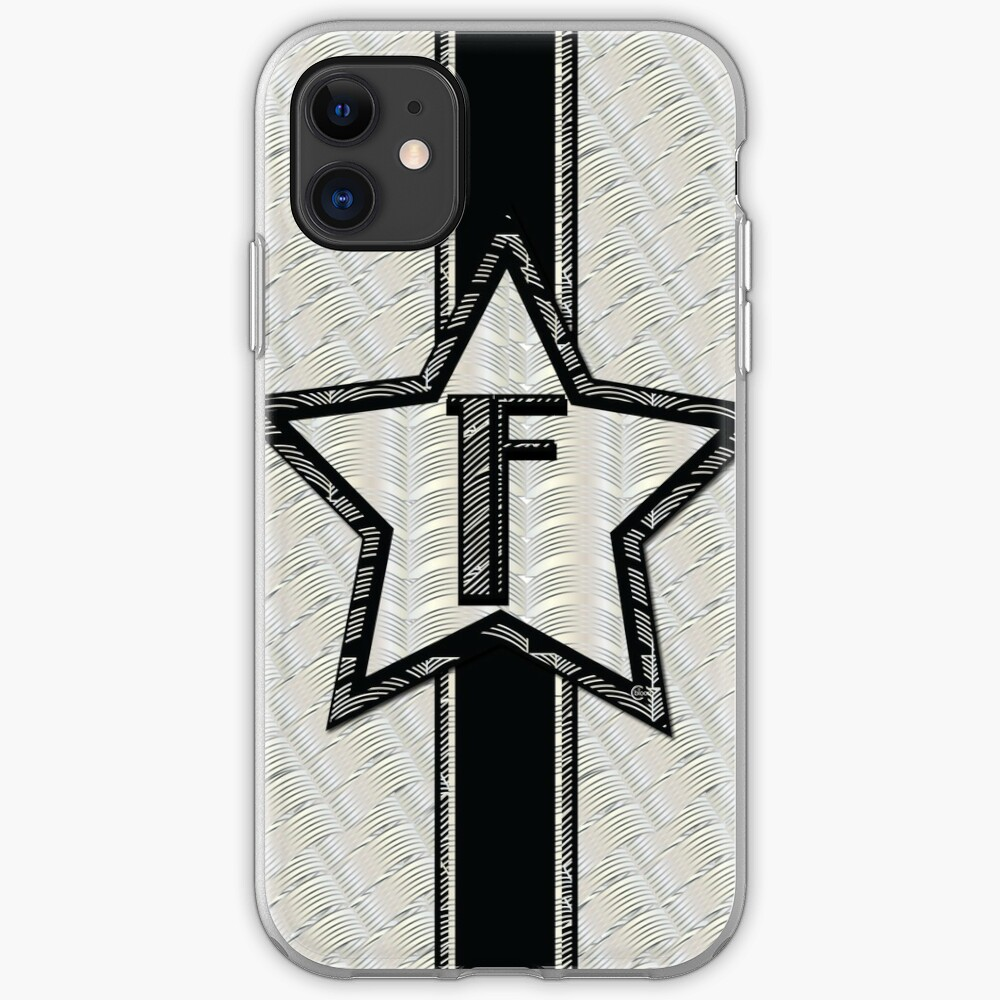 STAR of the SHOW art deco style letter F iPhone Case & Cover