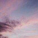 Pastel Clouds Summer Sunset  by AlexandraStr
