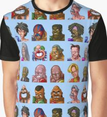 Super Punch-Out Enemies Graphic T-Shirt