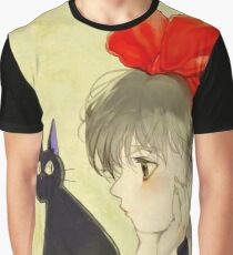 Kiki's Delivery Service Artwork Graphic T-Shirt