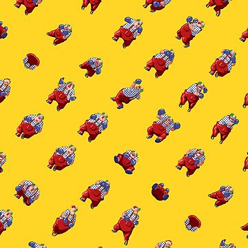 Mad Clown Pattern by MisterPixel