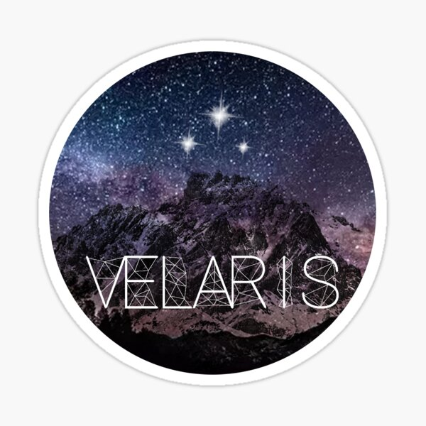 Velaris Sticker