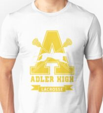 Adler High Lacrosse (To All The Boys I've Loved Before) Unisex T-Shirt
