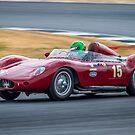 1957 Maserati 250S by Willie Jackson