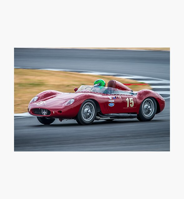 1957 Maserati 250S by Willie Jackson