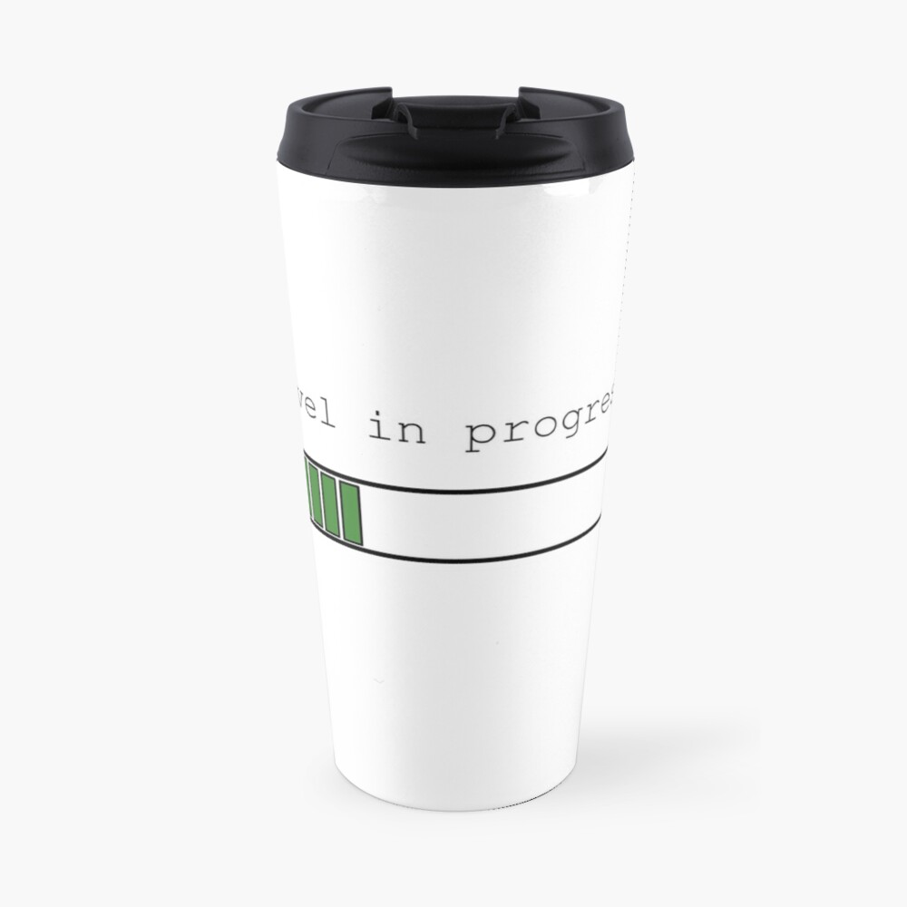 Novel in Progress Travel Mug