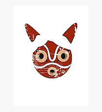 Mononoke Hime Mask Photographic Print