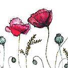 Poppy Threads by Leliza