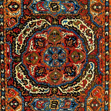 Azerbaijan Pattern 2 by planetterra