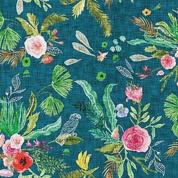 Paradisio Floral  by nouveaubohemian