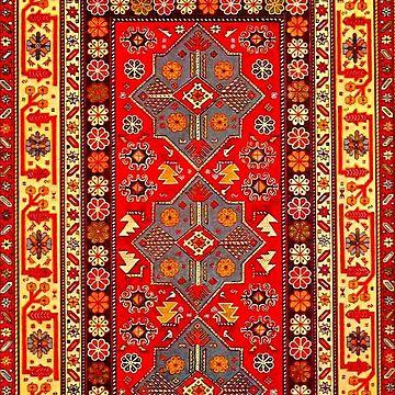 Azerbaijan Pattern 5 by planetterra