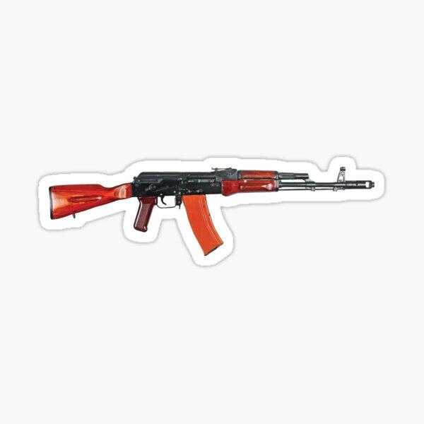 Kalashnikov AK-74 Sticker