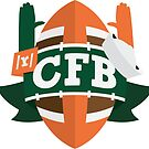 Miami Sticker by RedditCFB